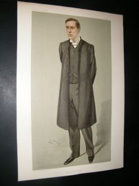 Vanity Fair Print 1902 Rev Bertram Pollock, Clergy